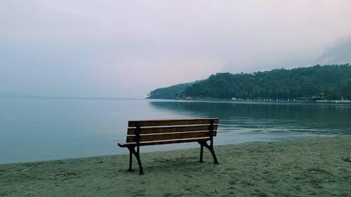 Free stock photo of beach chairs