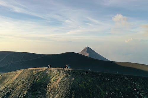 Free stock photo of volcano adventuer hiking hikin
