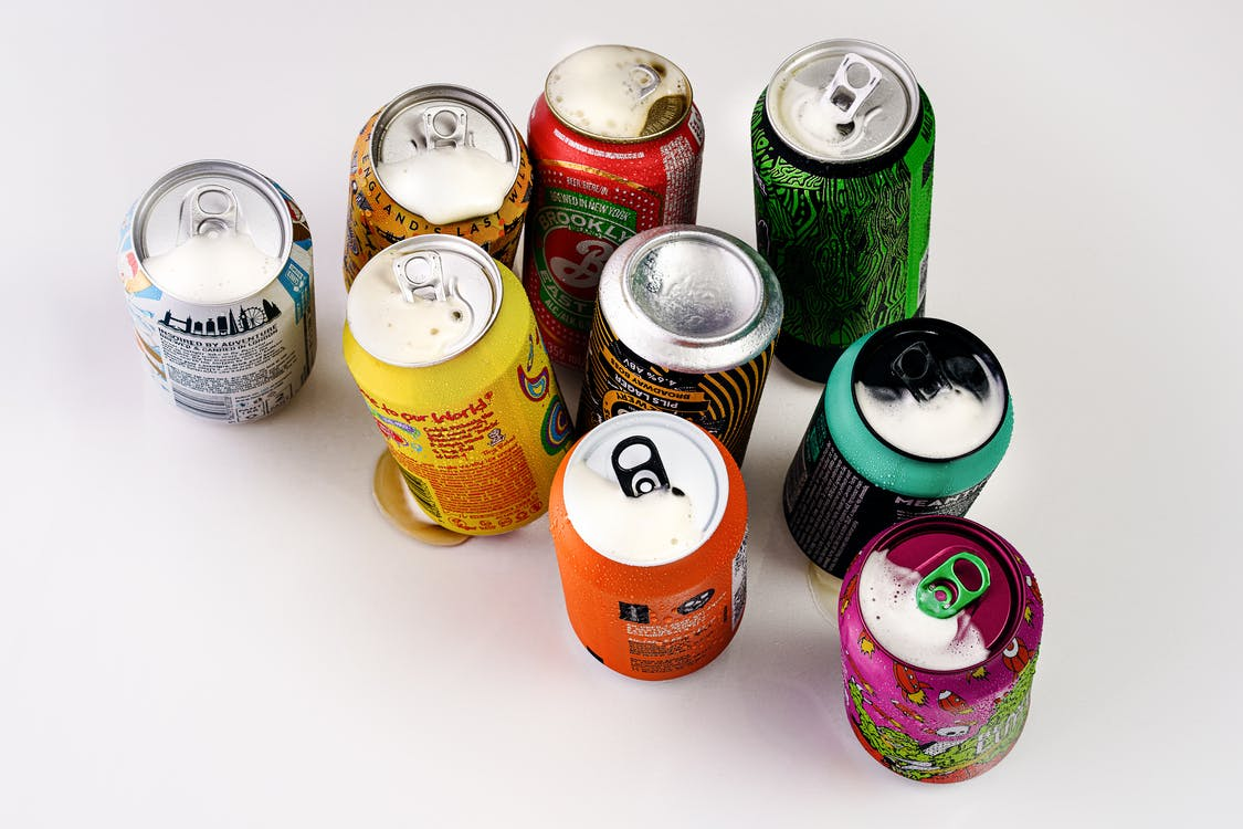 Photo Of Soda Cans