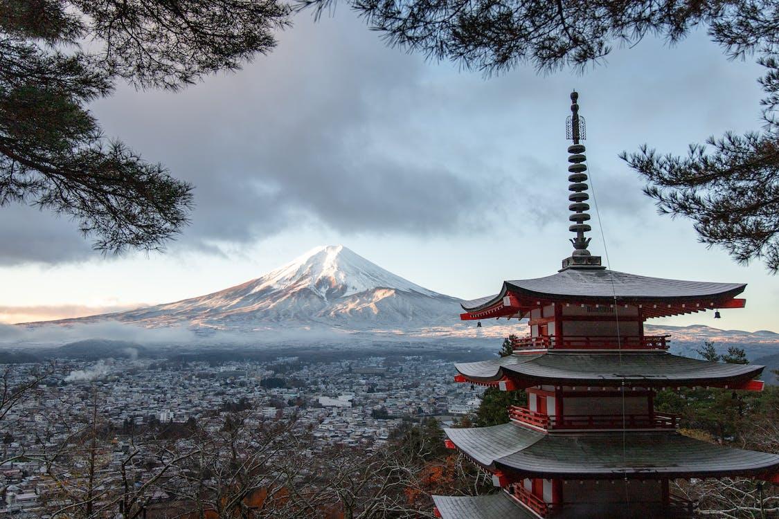 Бесплатное стоковое фото с вулкан, высокий, гора