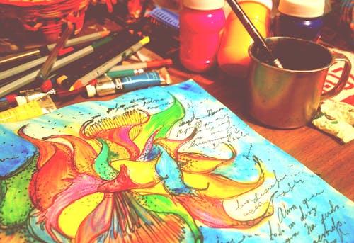 Ilmainen kuvapankkikuva tunnisteilla piirtää, taide, taidetarvikkeet