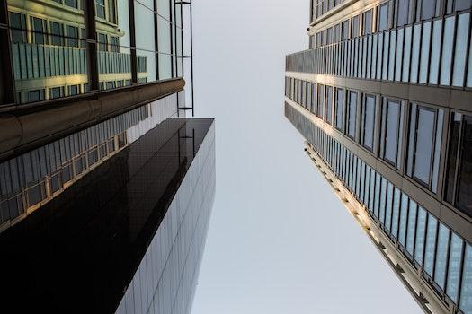 Free stock photo of city, sky, buildings, construction