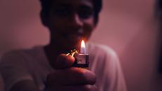 light, man, person