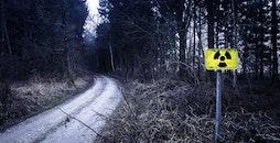 light, road, landscape