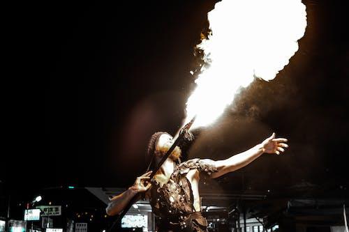 Kostnadsfri bild av brand, fakir, flamma, flammar