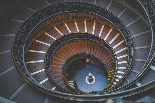 Empty Spiral Staircase