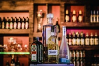 stadt, restaurant, alkohol