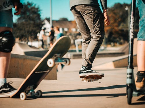 Selective Focus Photography of Person Doing Skateboard Stunts