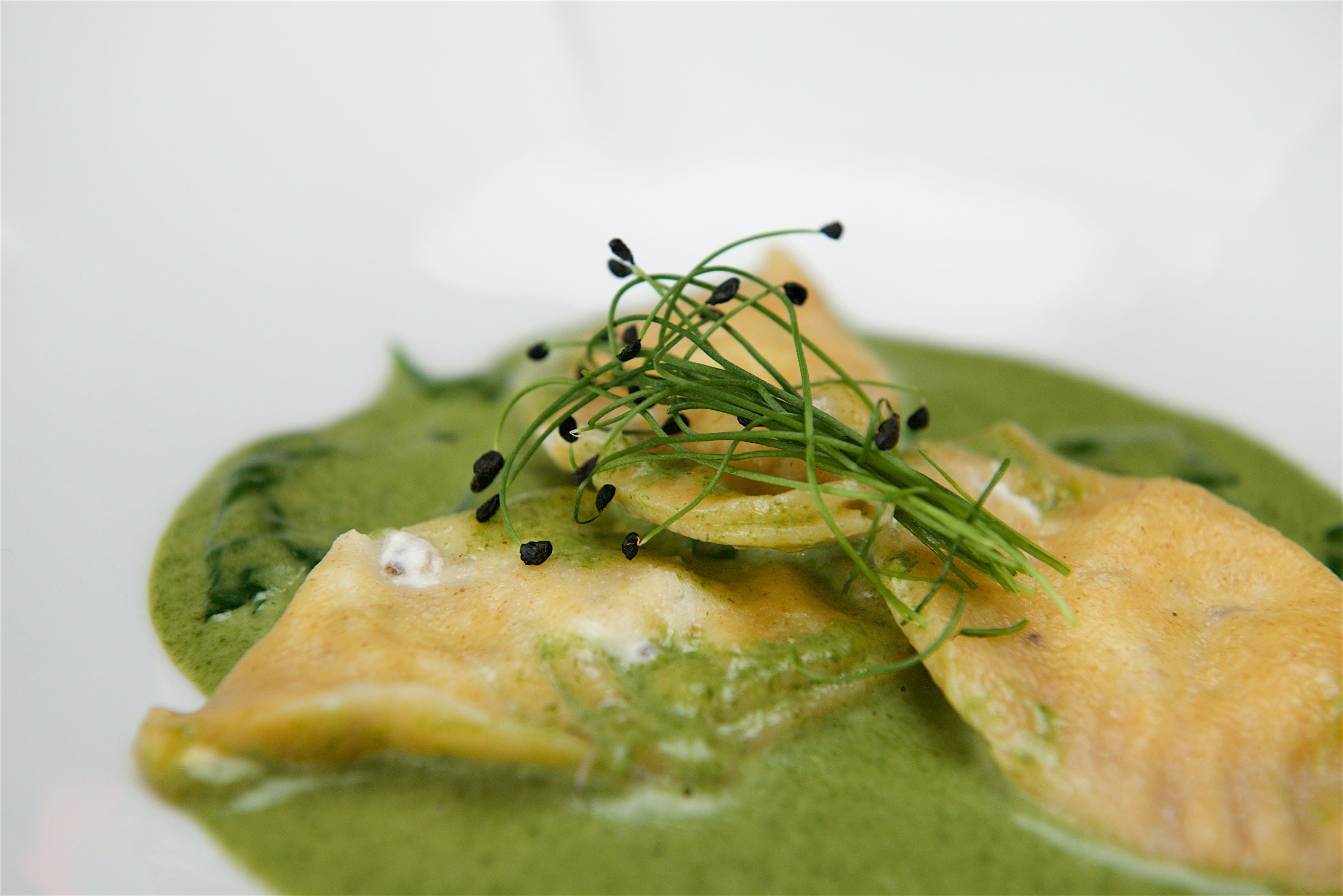Free stock photo of food, food photography, pasta, ravioli