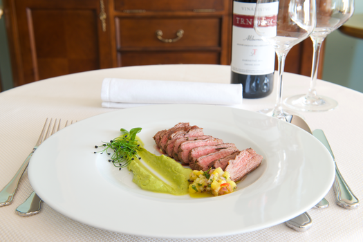 Free stock photo of food, restaurant, steak, wine