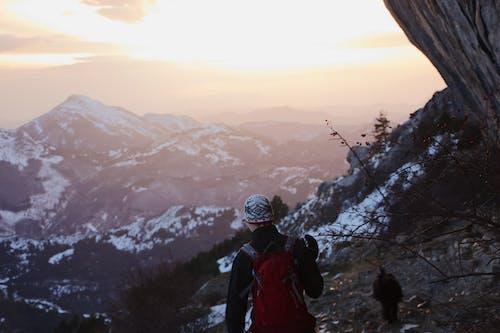 Kostenloses Stock Foto zu abenteuer, berg, bergsteiger, draußen