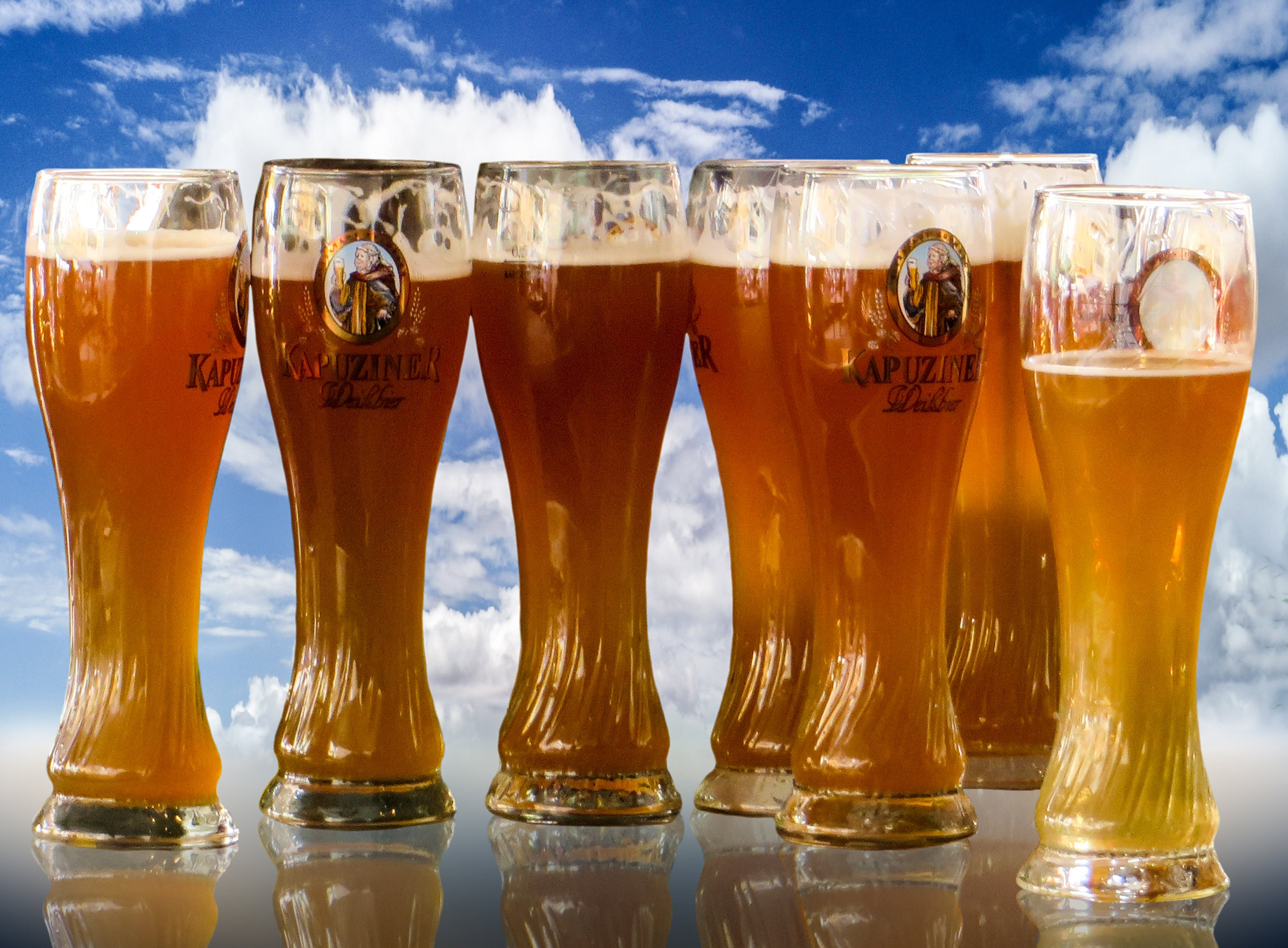 Free stock photo of blue, beer, white, tradition