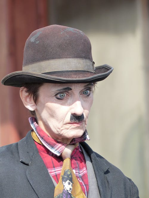 Person Portraying Charlie Chaplin