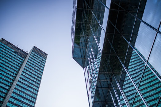 Free stock photo of city, buildings, glass, architecture