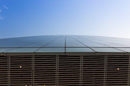 Fotos de stock gratuitas de acero, arquitectura, buscando, cielo azul