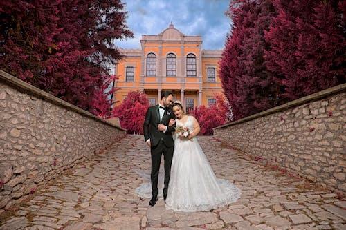 Foto stok gratis #weddingphotography, foto pernikahan, pemandangan indah, pernikahan