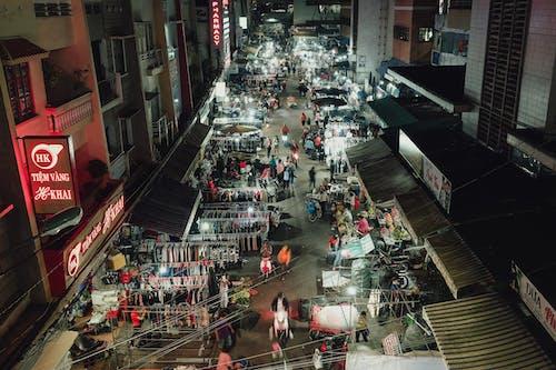 거리 사진, 군중, 도로, 도시의 무료 스톡 사진