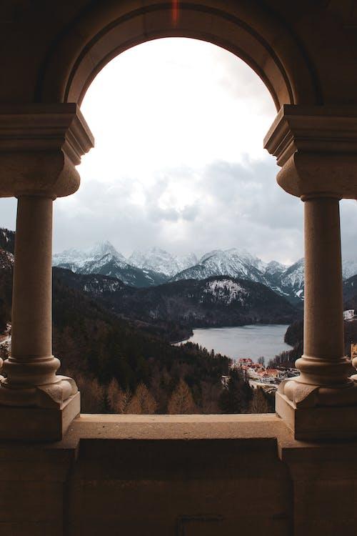 Δωρεάν στοκ φωτογραφιών με schwangau, βουνοκορφή, βουνοπλαγιές, γαλήνιος
