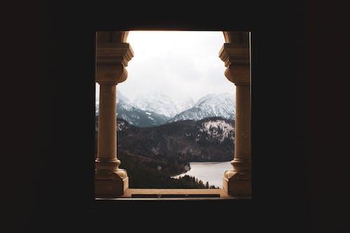 Ingyenes stockfotó Alpok, domb, építészet, erdő témában
