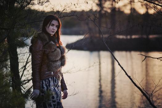 Free stock photo of cold, fashion, person, woman