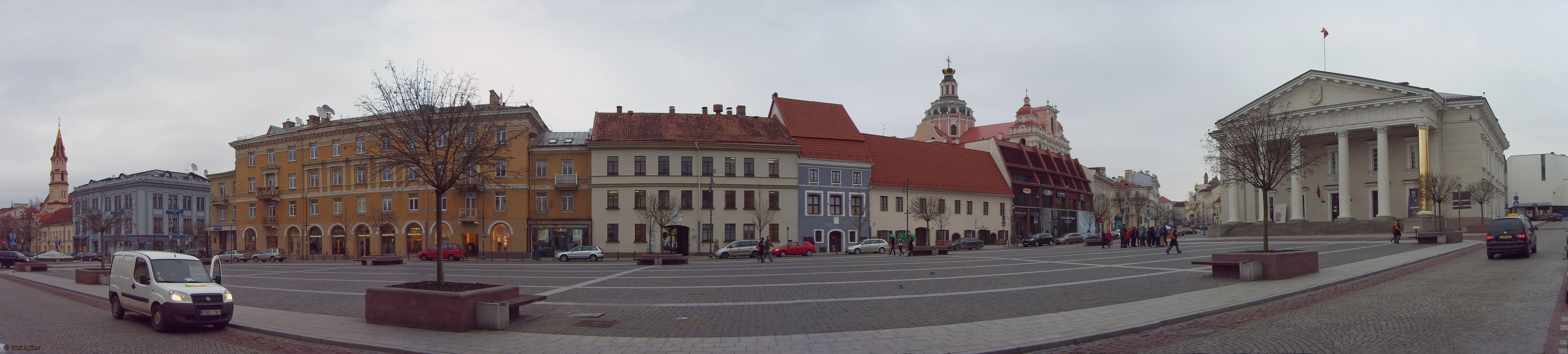 Lietuva, lithuania, Vilniaus rotušės aikštė
