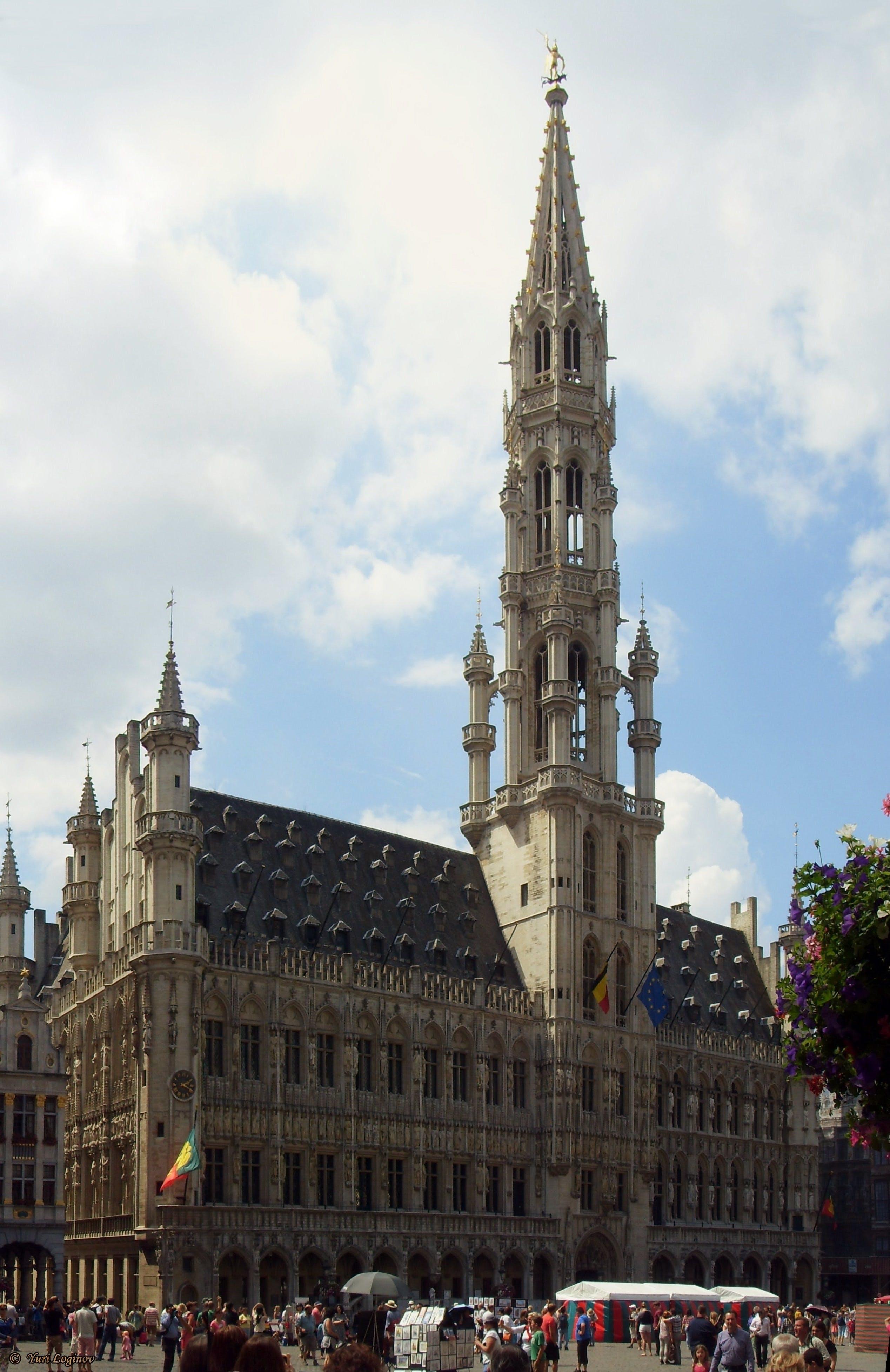 Free stock photo of brussels, Belgium, hotel de ville, belgique