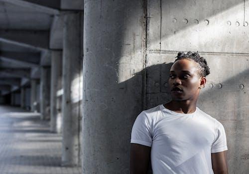 adam, afrikalı amerikalı adam, kişi, model içeren Ücretsiz stok fotoğraf
