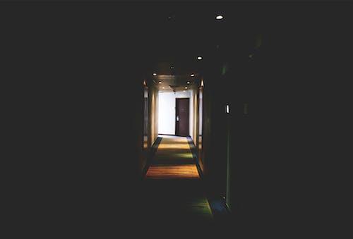 Free stock photo of aisle, arah, dark, door