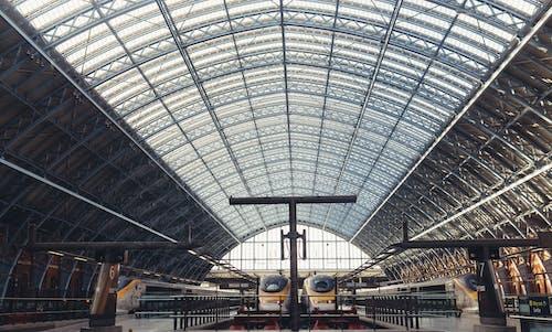 Ingyenes stockfotó építészet, járművek, tömegközlekedés, vasútállomás témában