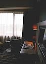 light, desk, bedroom