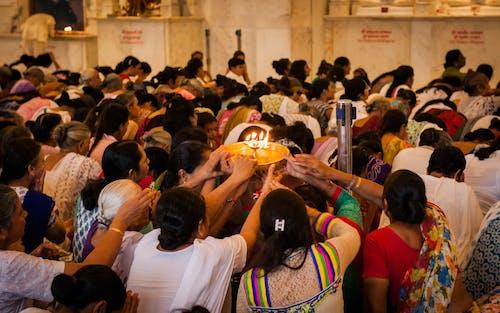 Gratis lagerfoto af aarti, åndelig, bøn, diya