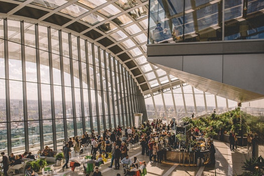 Free stock photo of people, building, party, glass
