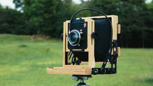 Kostnadsfri bild av analog, analog kamera, antik, bokeh
