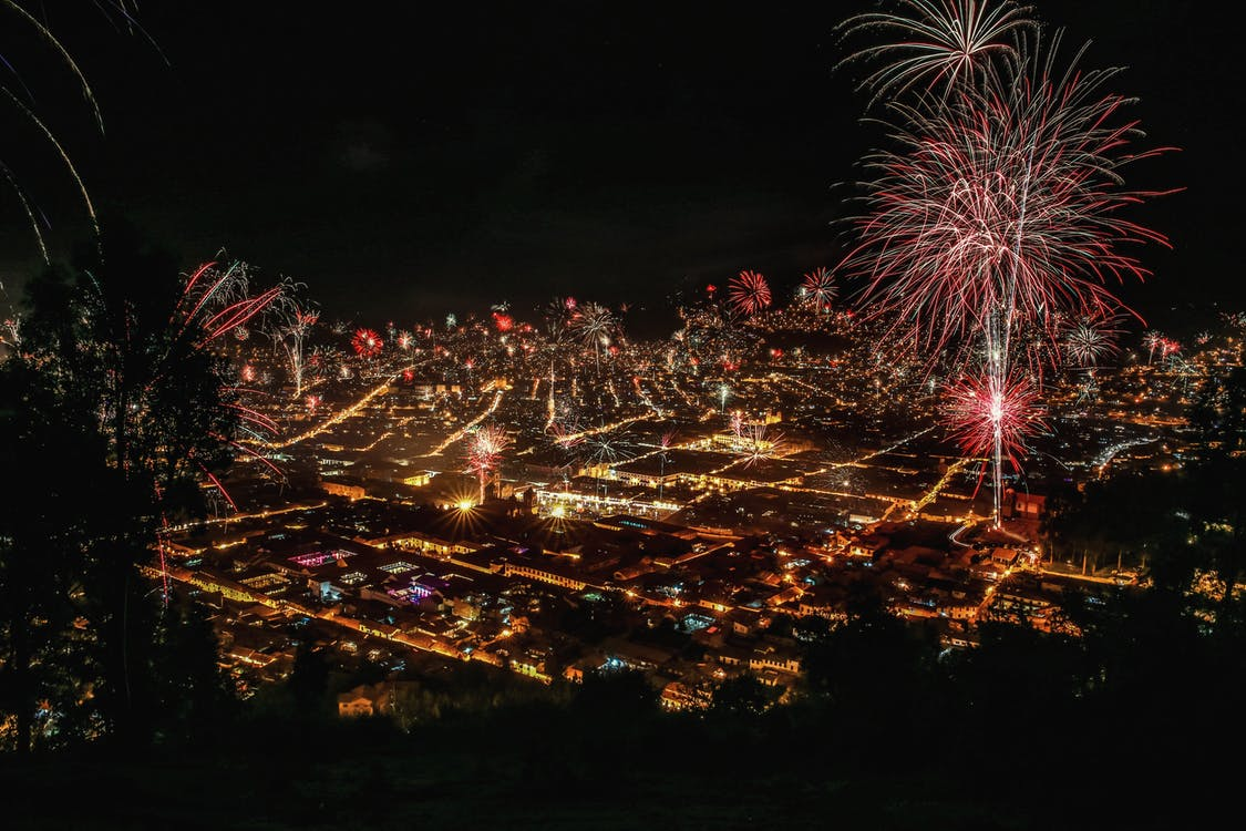 Long-exposure Photography of Firecrackers