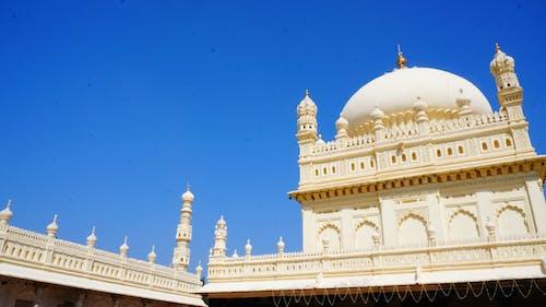 Free stock photo of architecture, blue, mysore
