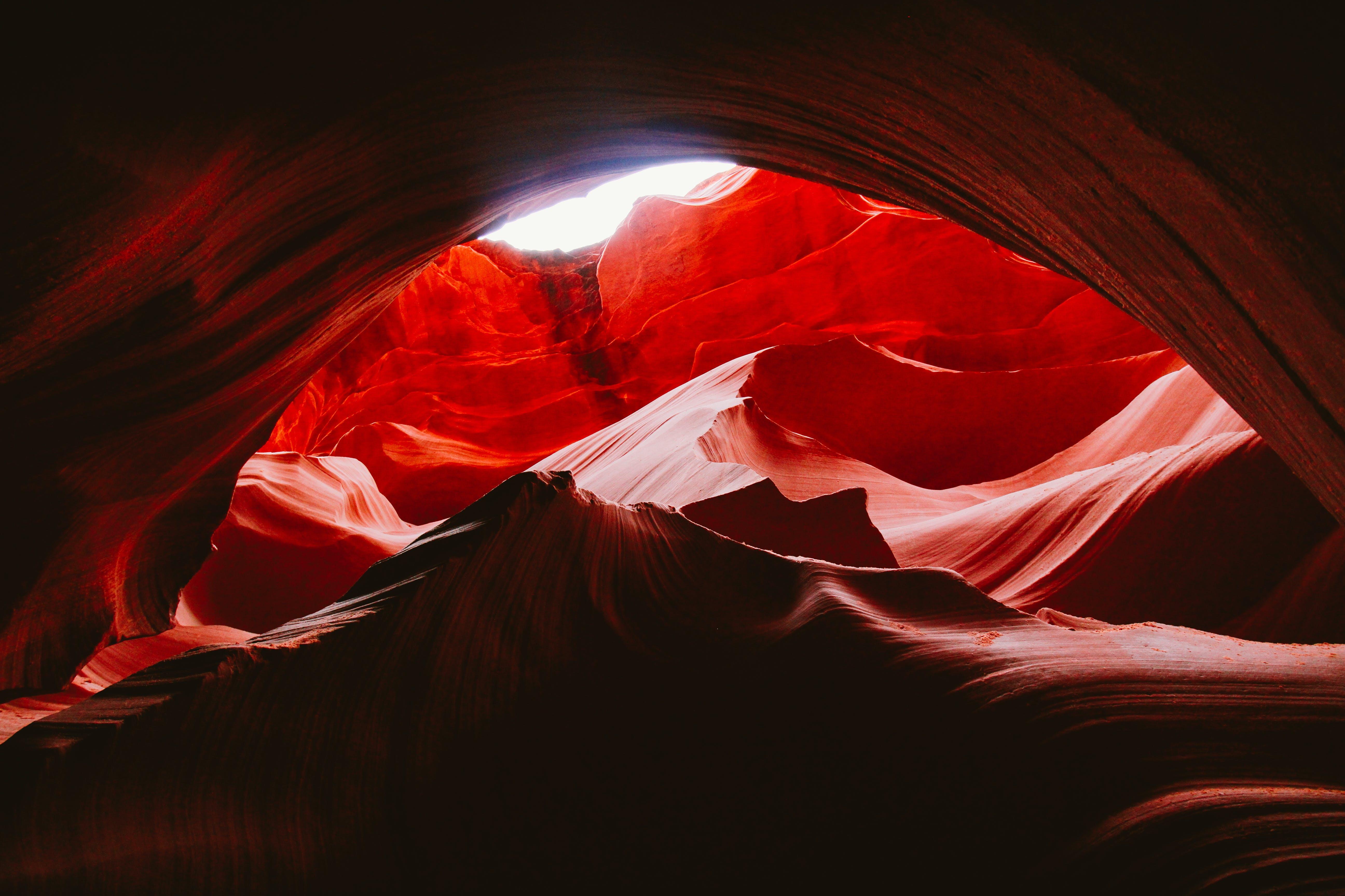 açık, antilop kanyonu, biçim, bulanıklık içeren Ücretsiz stok fotoğraf