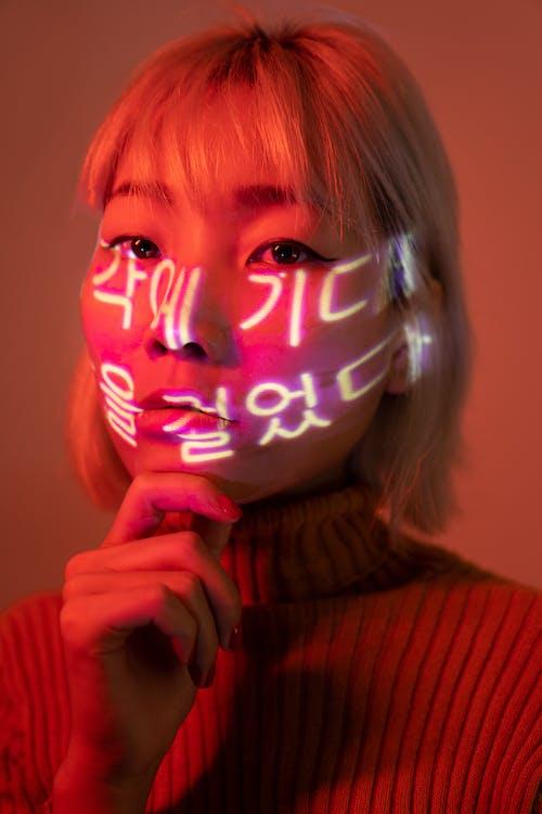 Gratis lagerfoto af asiatisk kvinde, kvinde, lys, person