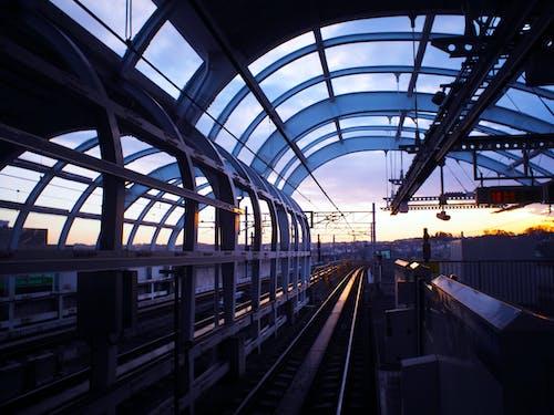 Black Metal Train Rail