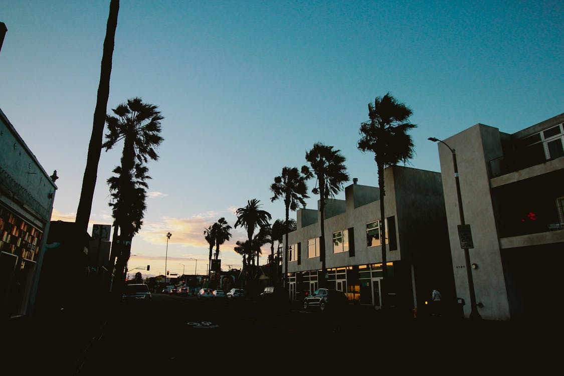 Free stock photo of los angeles, sunset
