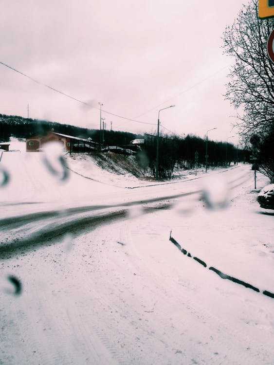 Photo Of Road During Snowy Day