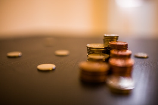 Free stock photo of business, money, coins, finance