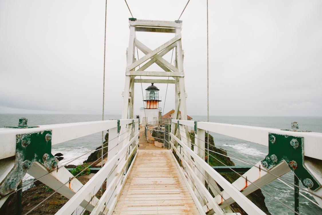 Free stock photo of bridge, hanging bridge