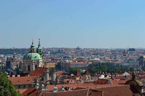 Darmowe zdjęcie z galerii z dachy, kościół, miasto, panorama