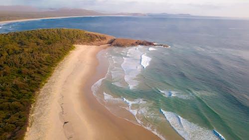 Free stock photo of beach, drone, drone cam