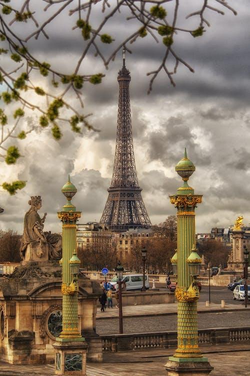 arkitektur, byggnad, Eiffeltornet