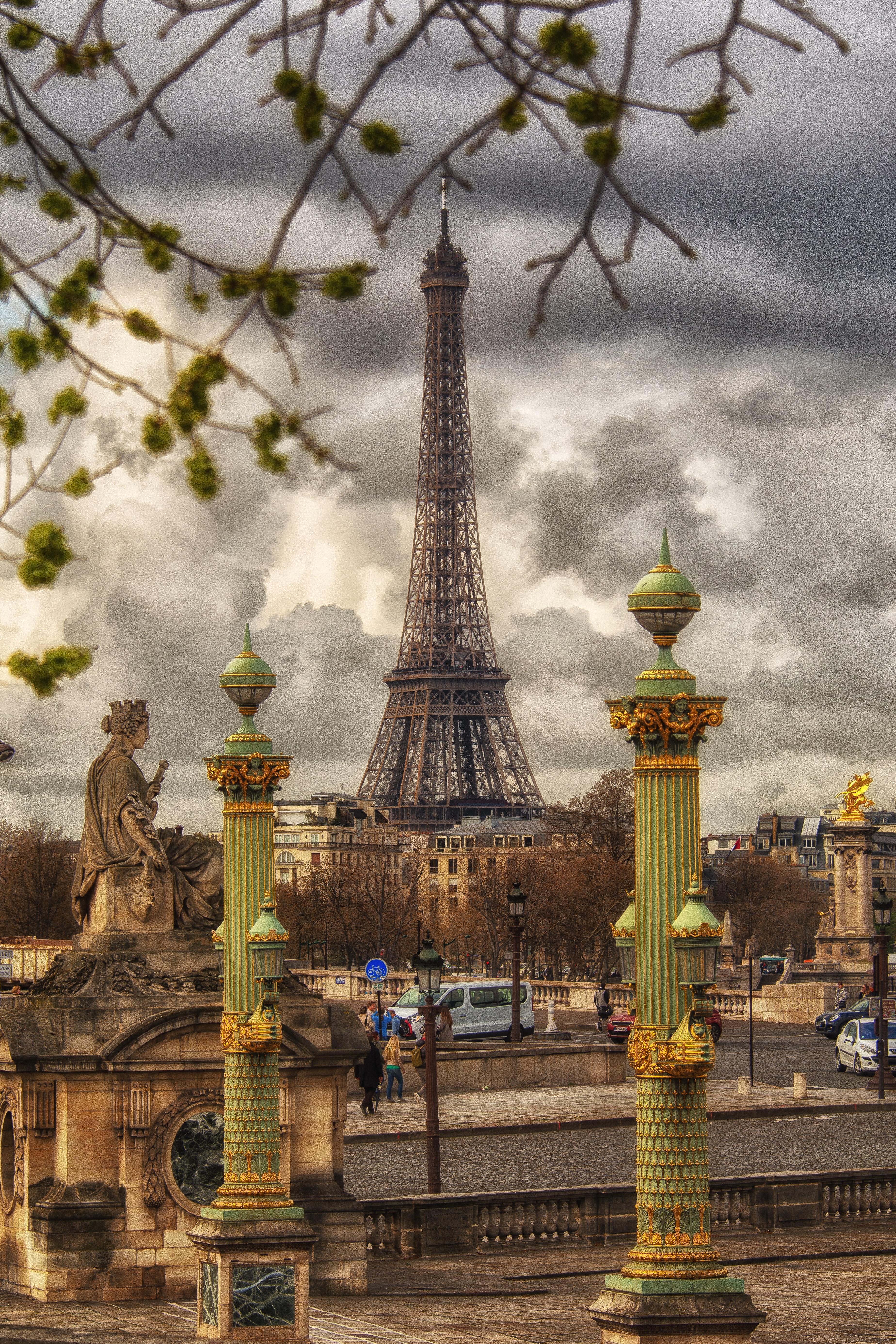 Paris Eiffel Tower 183 Free Stock Photo