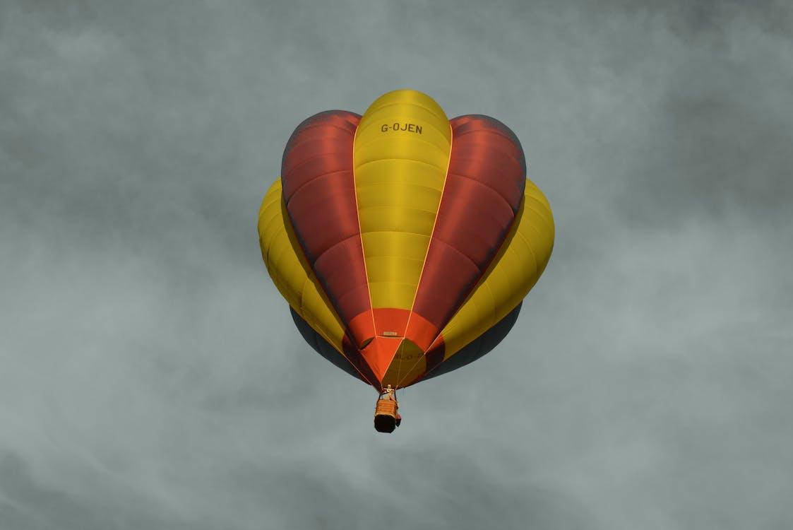 ballon, hemel, heteluchtballon