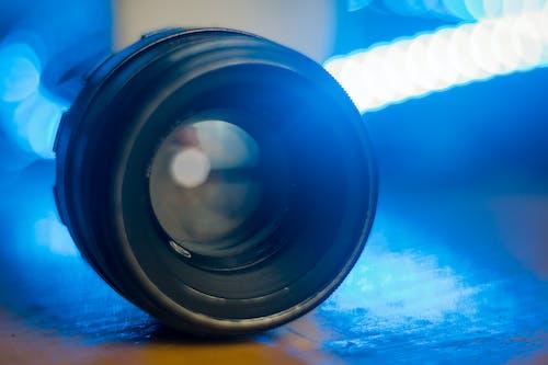 Free stock photo of analog, blue, bokeh