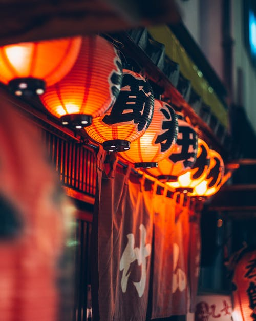 Фото японских фонарей