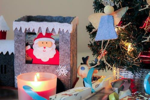 Free stock photo of christmas decoration, christmas decorations, color, santa